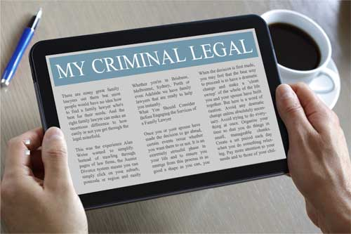 My Criminal Legal